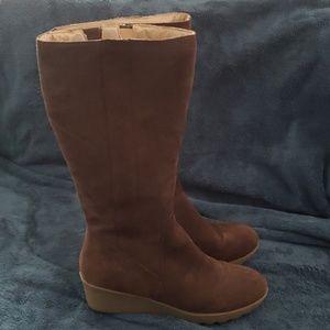 Lands' End Suede Boots